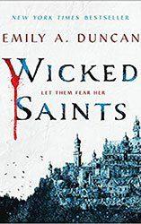 dark fantasy books wicked saints book cover