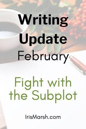 writing update february