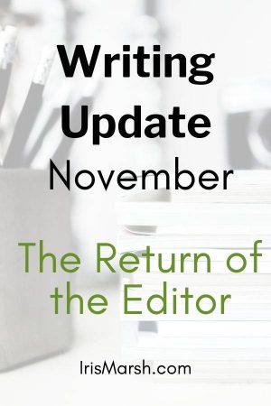 november writing update
